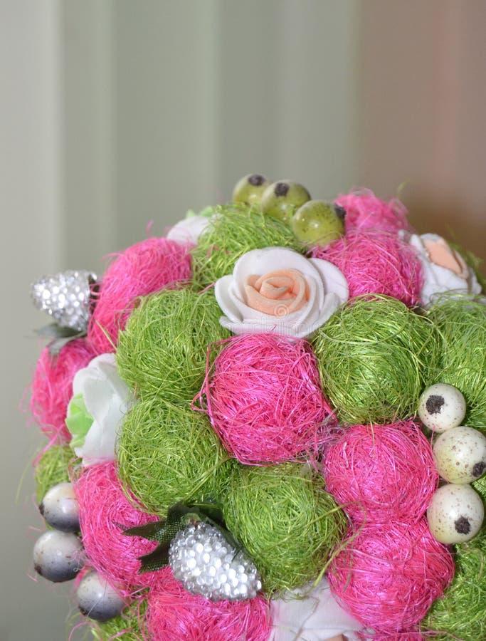 Härligt topiaryträd arkivfoto