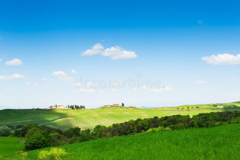 Härligt Tuscany landskap, Italien arkivbilder