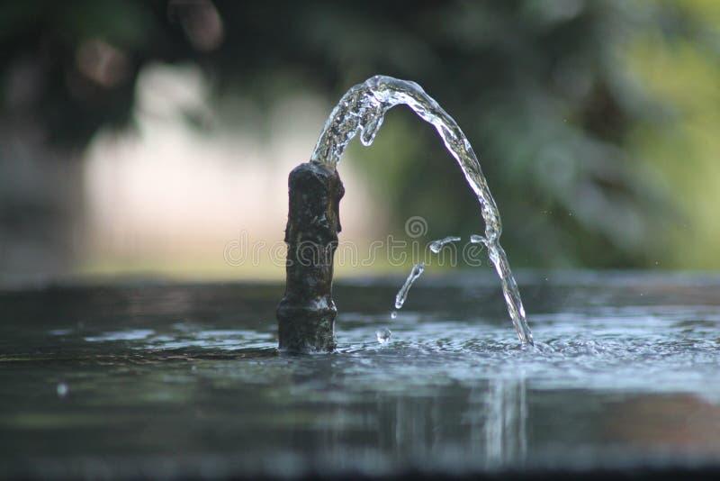 härligt vatten arkivfoton