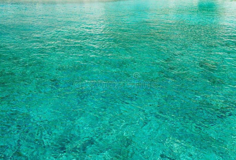 Härligt vatten av den Zakinthos ön royaltyfri bild