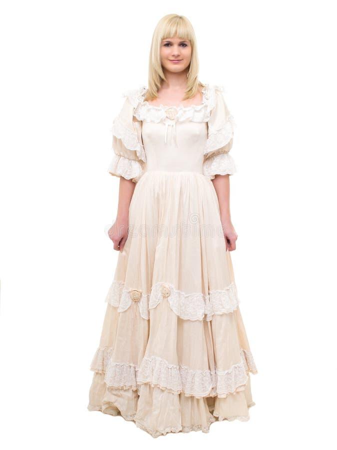 Härlig Victoriankvinna royaltyfri fotografi