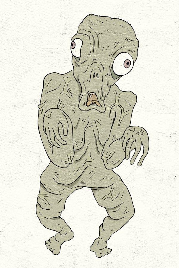 Hässlicher Mutant stock abbildung