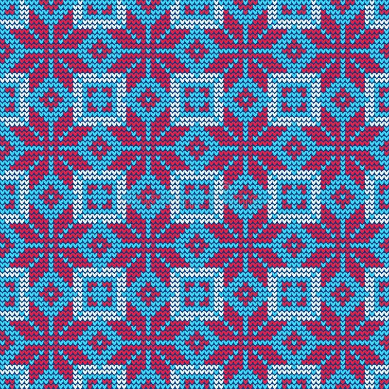 Hässliches Strickjacke Muster lizenzfreie abbildung