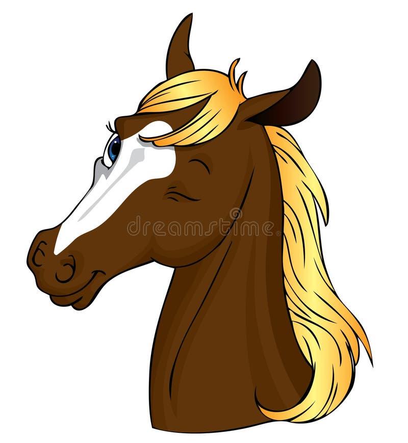 hästblinkning vektor illustrationer