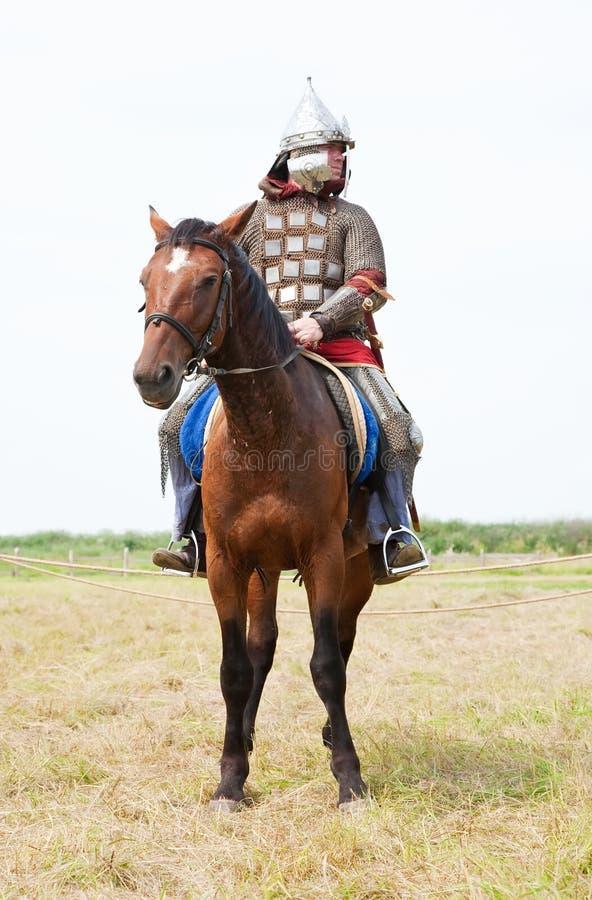 hästriddare arkivbilder