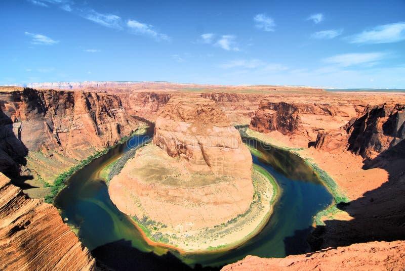 Hästsko och Colorado royaltyfri foto
