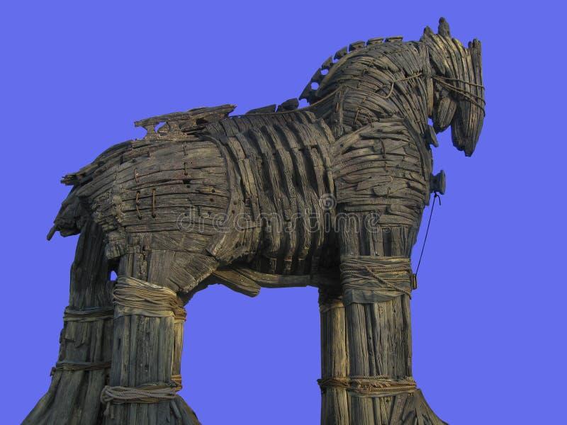 hästtrojan royaltyfria foton