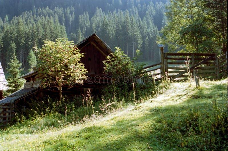 Häuschenhütte lizenzfreie stockfotografie