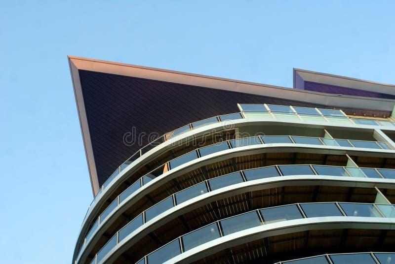 Häuser bei der Themse lizenzfreie stockbilder