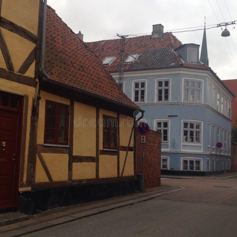 Häuser In Dänemark häuser in dänemark stockfoto bild blau straße tourismus