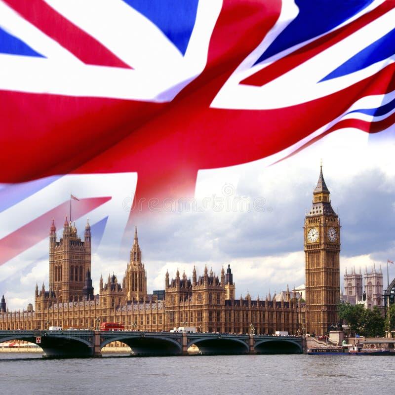 Häuser des Parlaments - London stockbilder
