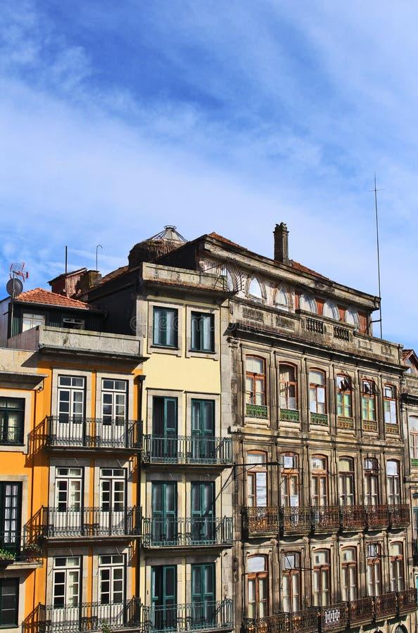 Häuser in Oporto lizenzfreies stockfoto