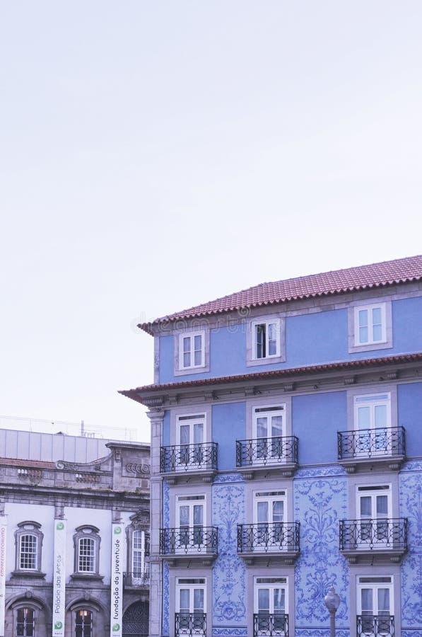 Häuser von Porto stockfotografie