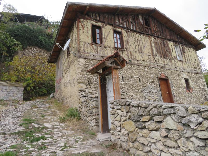 Häuser von Safranbolu stockfotografie