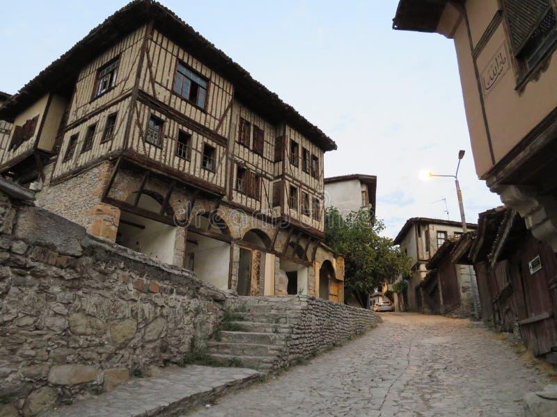 Häuser von Safranbolu lizenzfreies stockbild