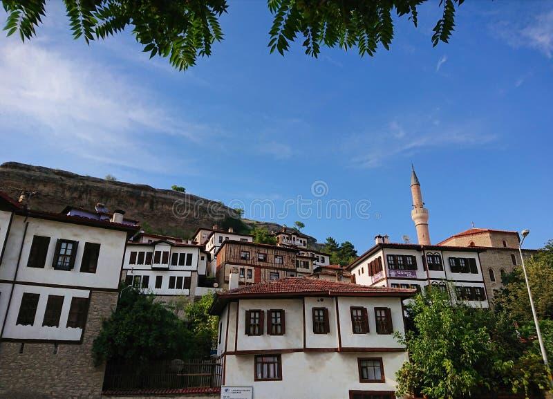 Häuser von Safranbolu lizenzfreie stockfotos