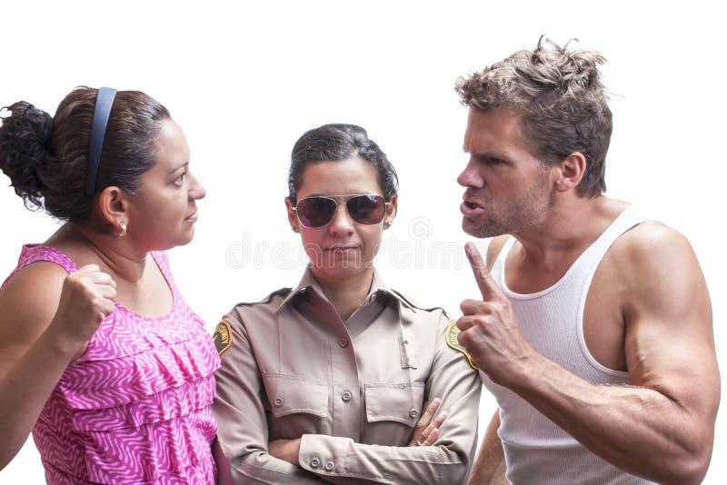 Häusliche Gewalt stockbilder