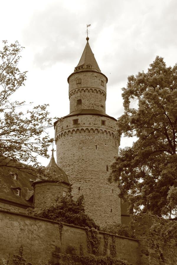 Häxatorn i Idstein royaltyfria bilder