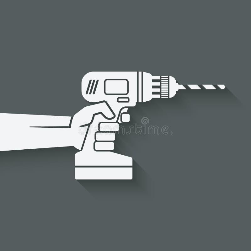håla handen Reparera begreppet stock illustrationer