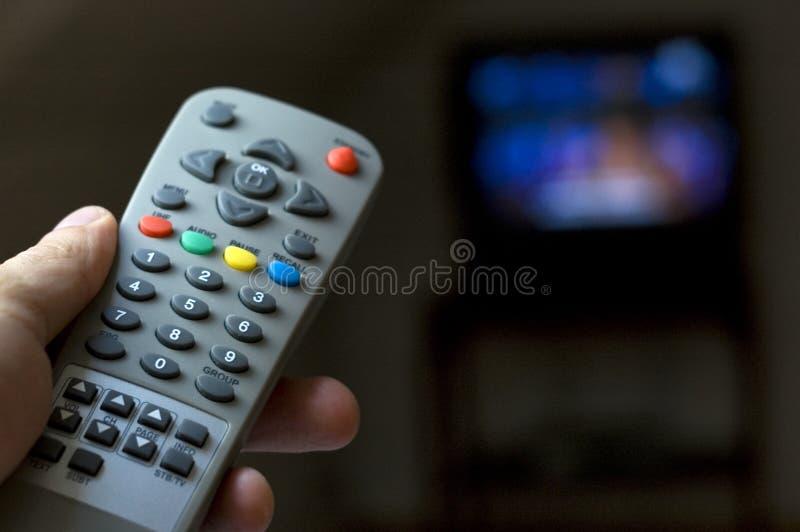 hålla ögonen på för tv arkivfoto