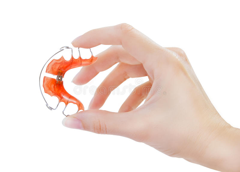 Hållare för tänder fotografering för bildbyråer