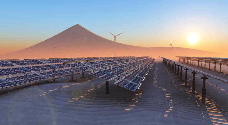 hållbar energi arkivfoton