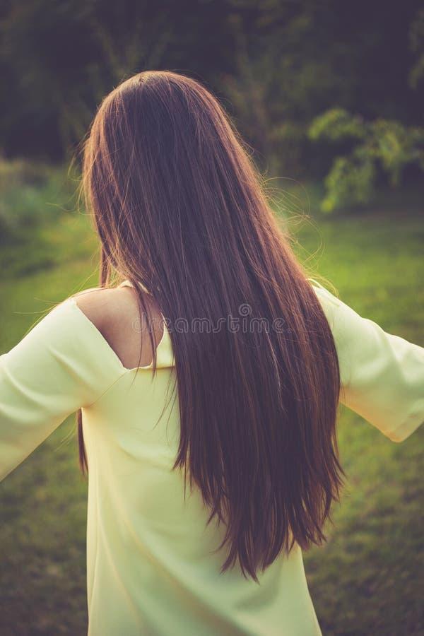 hår long arkivbilder