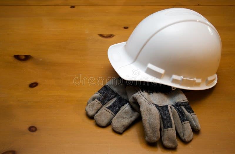 hård hatt för konstruktion arkivfoton