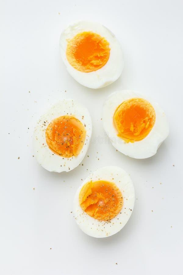 Hårda kokt ägg arkivfoton