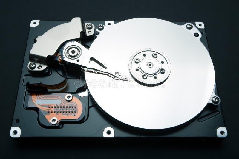 Hårddiskdrev av datoren, data och information fotografering för bildbyråer