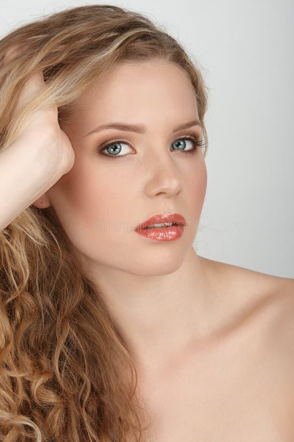 hårhand fotografering för bildbyråer