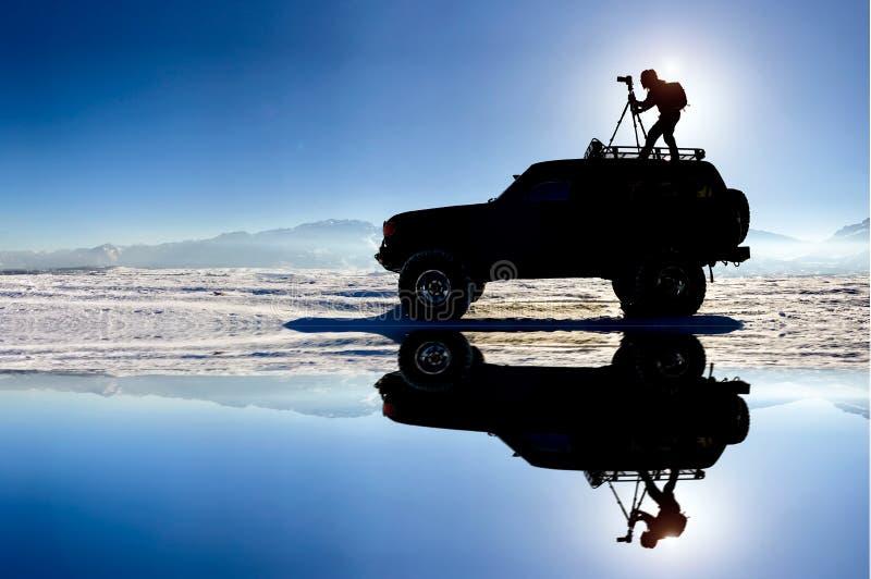 Hårt arbete, affärsföretag och passion för fotografi royaltyfri bild