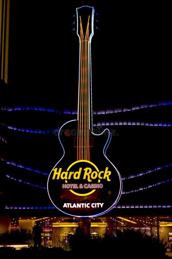 Hårt vagga kasinot i Atlantic City arkivfoton