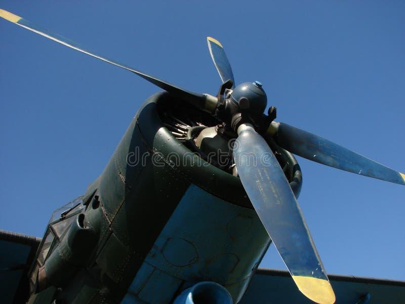 Hélice de avião foto de stock