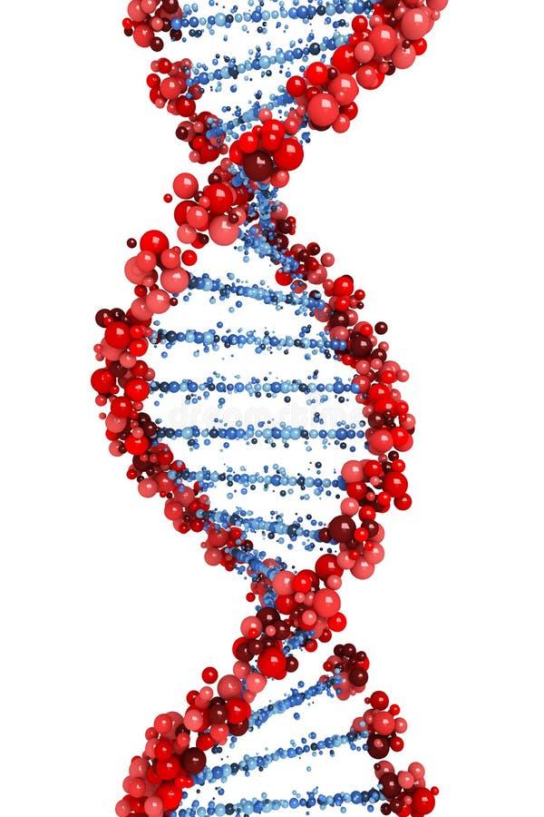 Hélice de la DNA libre illustration