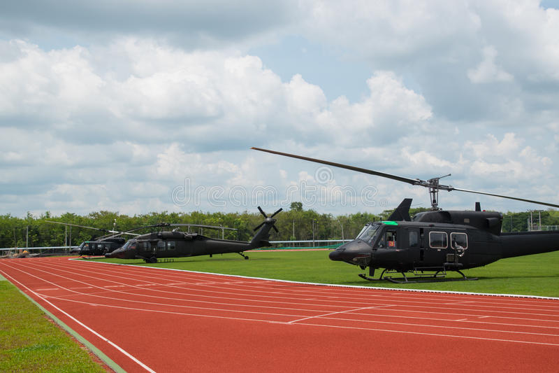 Hélicoptère images libres de droits