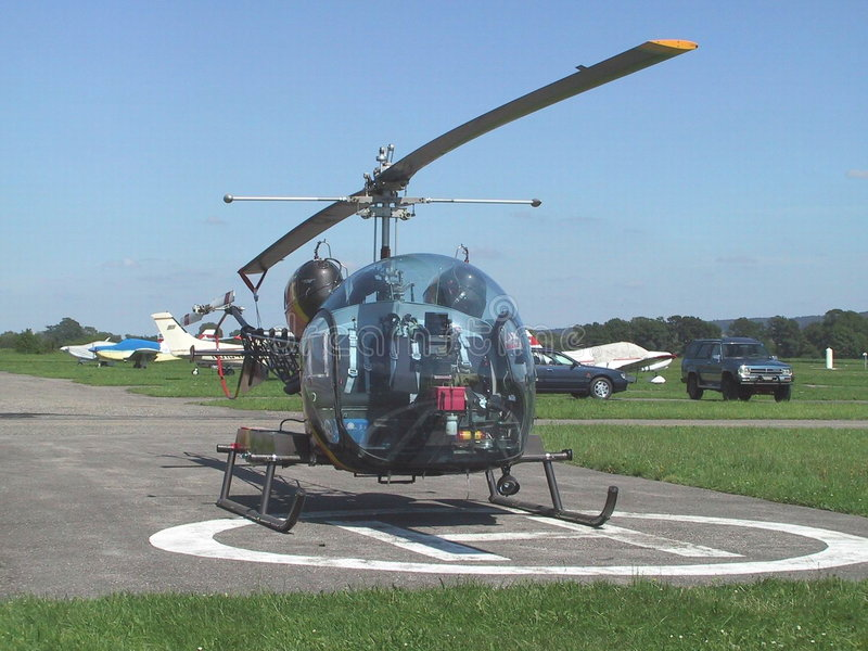 Hélicoptère Bell B-46 Photo stock