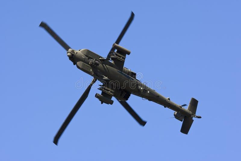 Hélicoptère d'Apache photos libres de droits