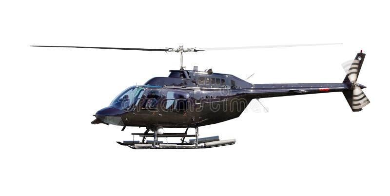 Hélicoptère d'isolement photos libres de droits