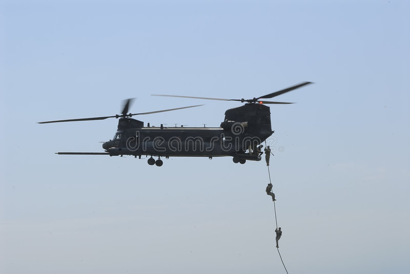Hélicoptère de Chinook images stock