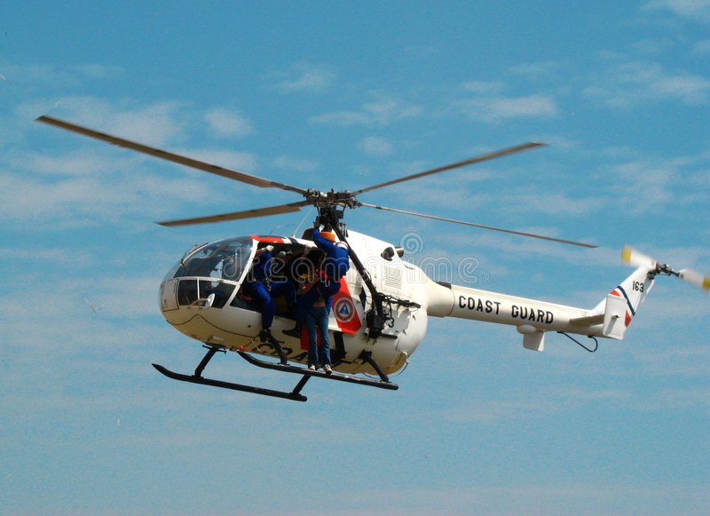 Hélicoptère de MBB BO 105 photos libres de droits