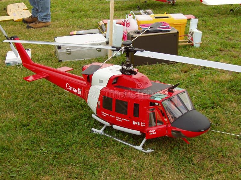 Hélicoptère de RC image libre de droits