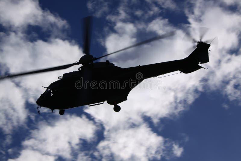 hélicoptère de Superbe-puma images stock