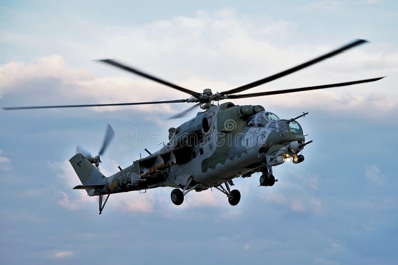 Hélicoptère Mi-24 photos stock