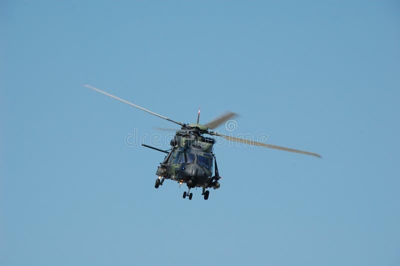 Hélicoptère NH90 de transport photographie stock libre de droits