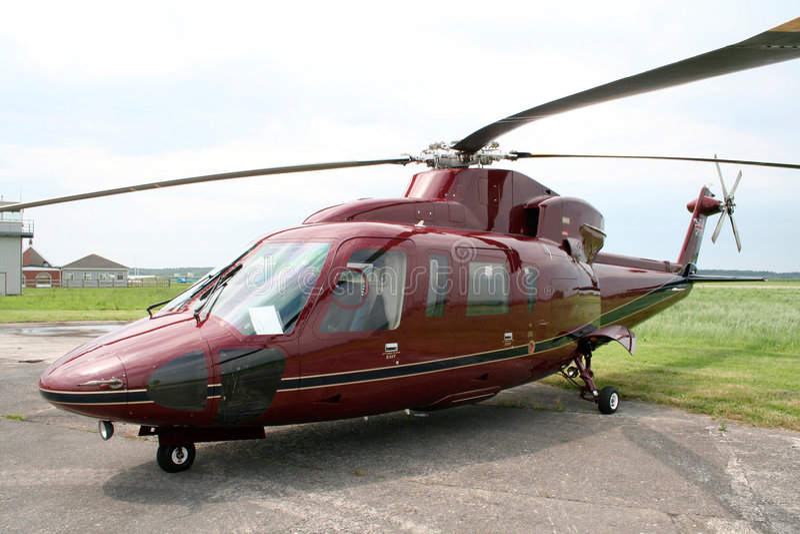 Hélicoptère royal photographie stock libre de droits