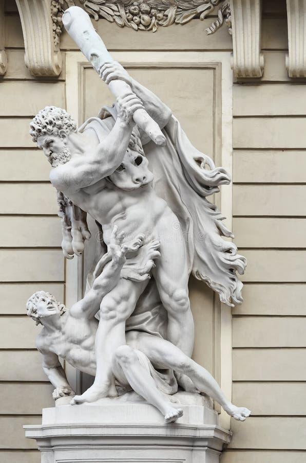 Hércules contra Busiris foto de archivo