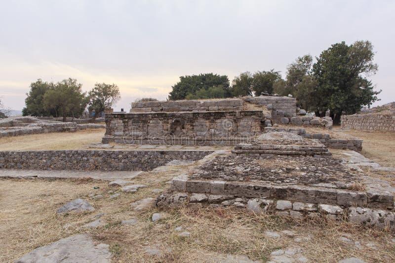 Héritage de Taxila au Pakistan image stock