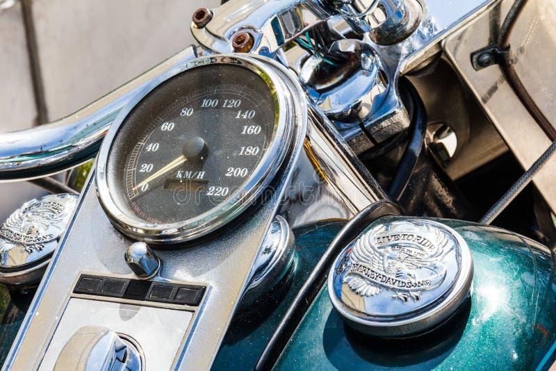 Héritage Softail de Harley Davidson photographie stock libre de droits