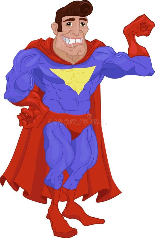 Héroe stock de ilustración